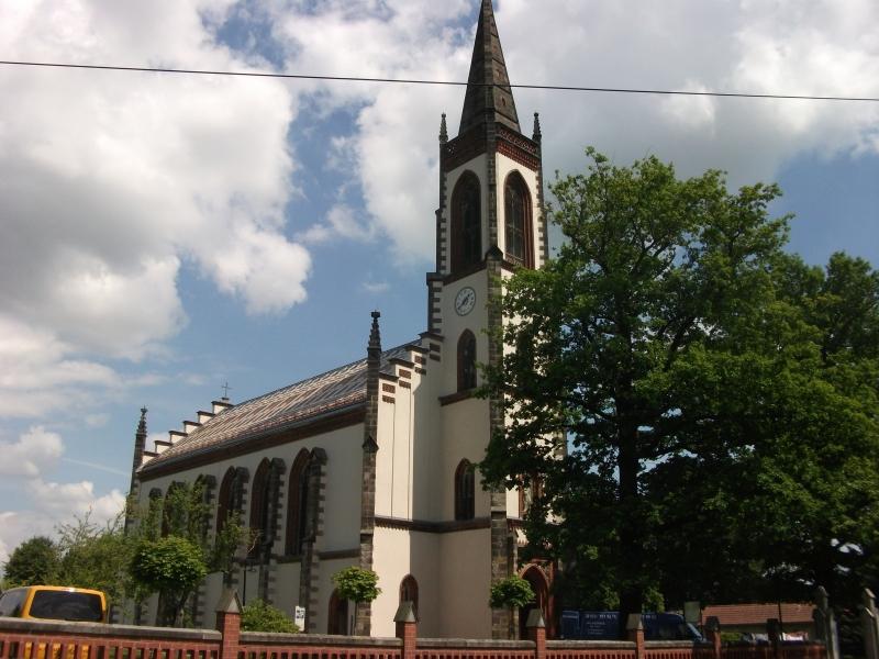 Katholische Pfarrkirche in Leutersdorf