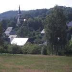 Blick auf Wehrsdorf.
