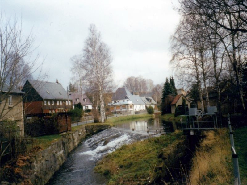 Spree in Friedersdorf.