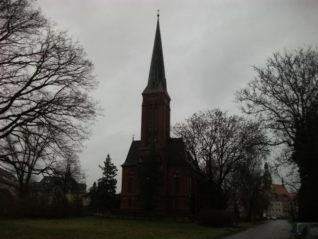 Die Gustav-Adolf-Kirche in Ostritz
