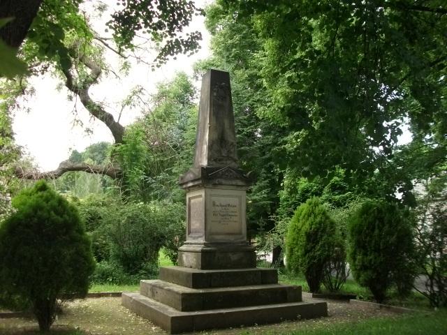 Kriegerdenkmal in Ostritz - Gefallene 1866 u. 1870